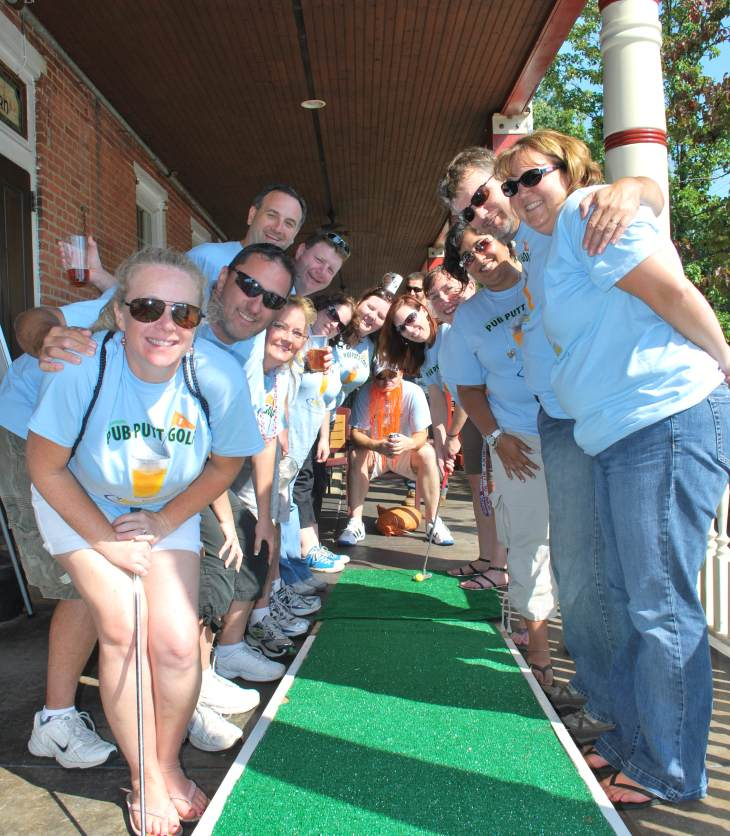 Jaycees Pub Putt Pub Crawl